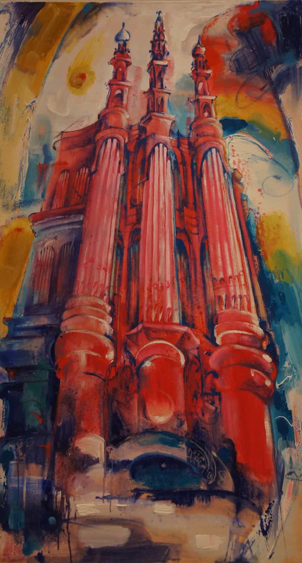 Алла Власенко. Концерт органной музыки. 2011