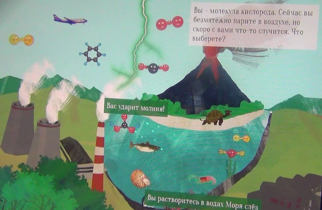 Путешествие молекулы кислорода