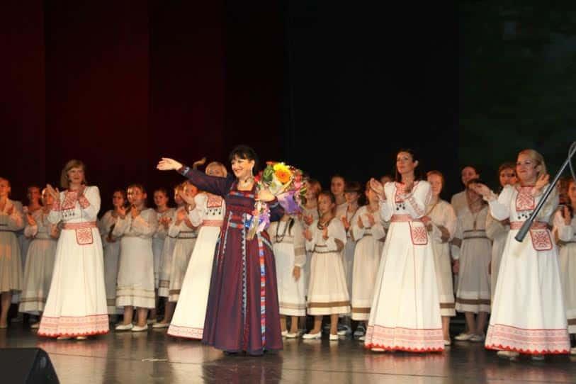 На юбилейном концерте Татьяны Перонь в Музыкальном театре Карелии