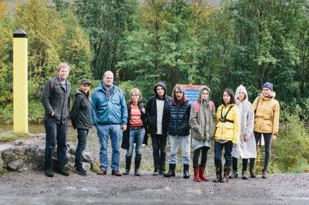Российско-норвежская команда проекта