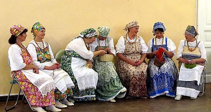 Фольклорная группа «Родные напевы» из деревни Авдеево