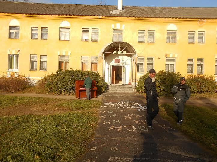 Прежнее здание ДМШ, откуда выселяют детей