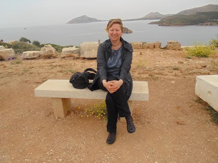 Ирина Колганова в Греции. Фото из личного архива Ирины Колгановой