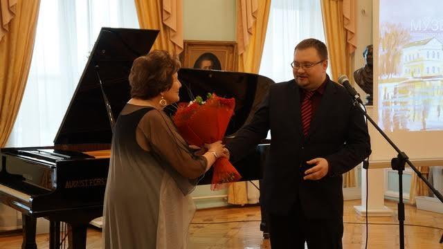 Поздравление от и.о. министра культуры Карелии Алексея Лесонена