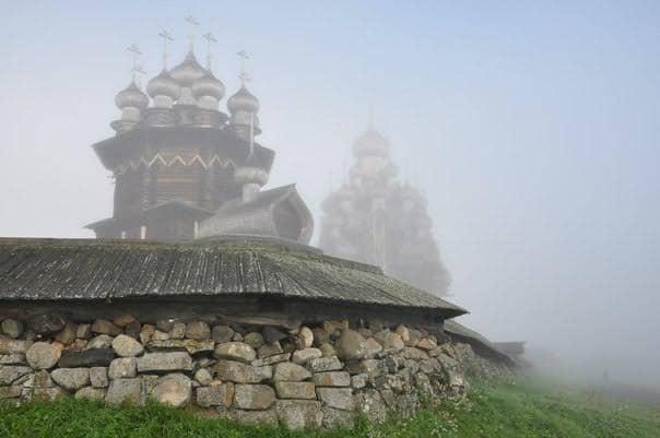 Елена Савкина. Погост в тумане