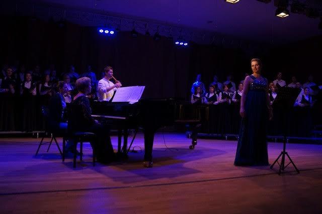 В концерте участвовал Академический хор Петрозаводской консерватории