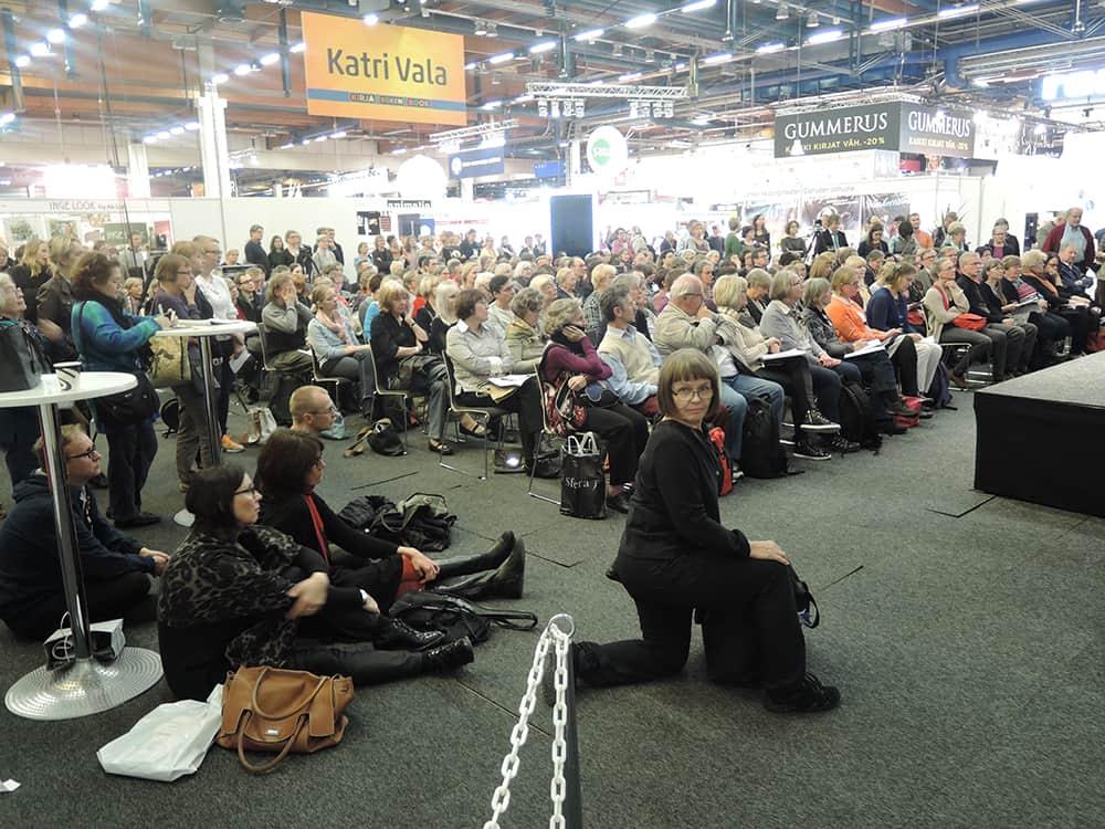 XV Хельсинкская международная книжная ярмарка. Фото www.bookunion.ru