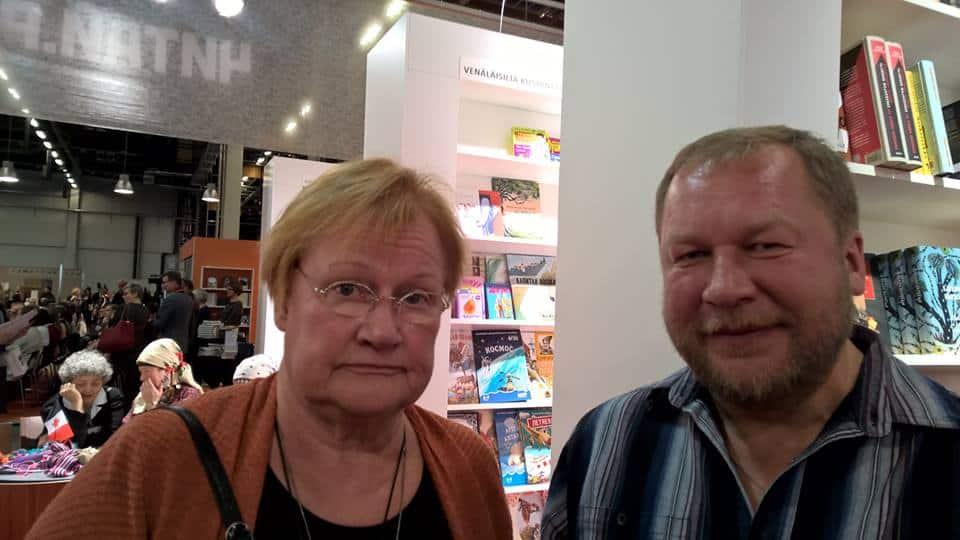 С Тарьей Халонен