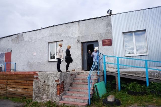 Так выглядит Дом культуры в Мелиоративном. Фото Ирины Ларионовой