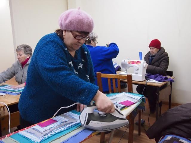 """Проект """"Лоскутный  start-up"""", в зале не жарко... Фото Ирины Ларионовой"""