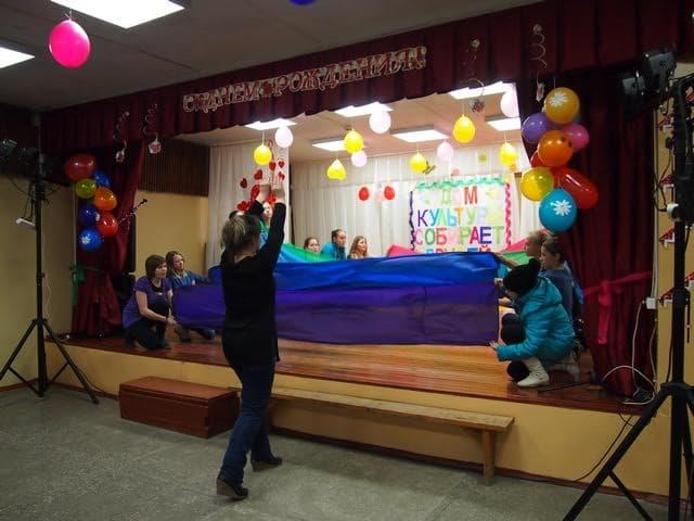Репетиция к празднику. Фото Ирины Ларионовой