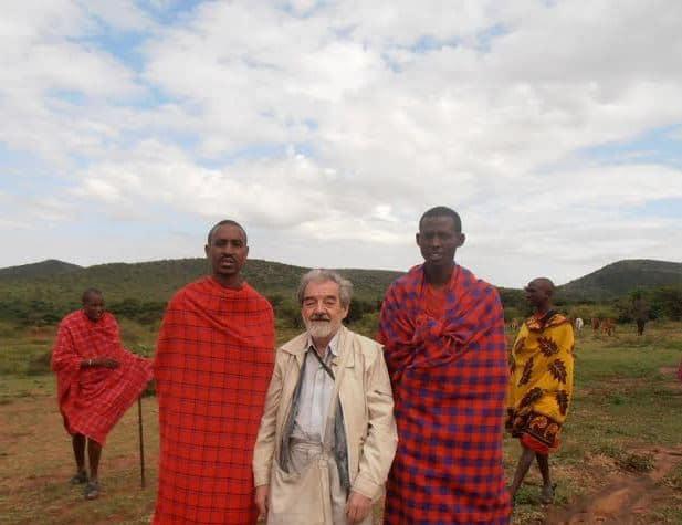 Владимир Лененко. Мужчины из племени масаев - самые высокие на планете