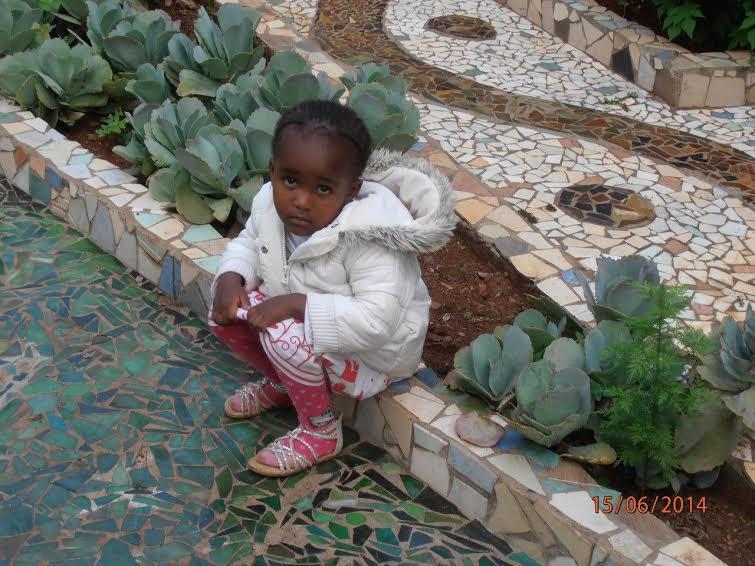 Малыш в Найроби, Кения