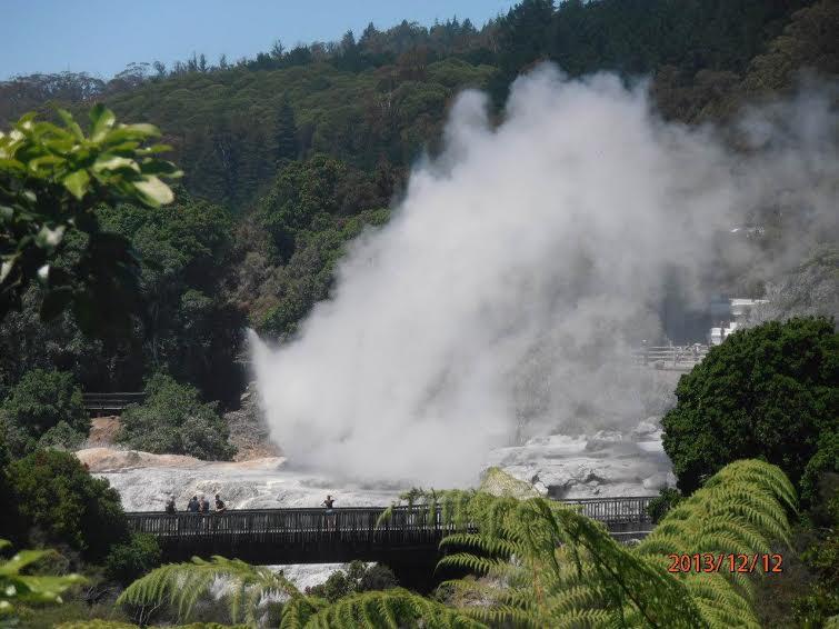 Новая Зеландия. Долина Гейзеров