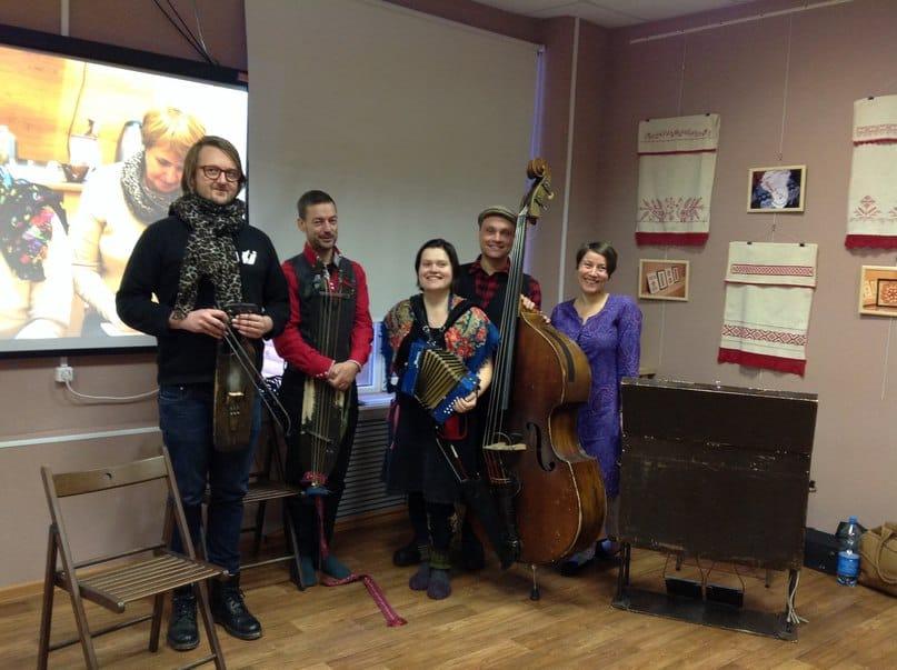 Финская группа Perinnelaboratorio. Фото Илоны Румянцевой