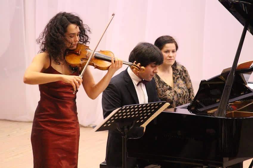 Алена Баева и Вадим Холоденко. Фото Евгении Легкой