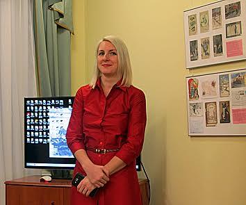 Куратор выставки Татьяна Бердашева