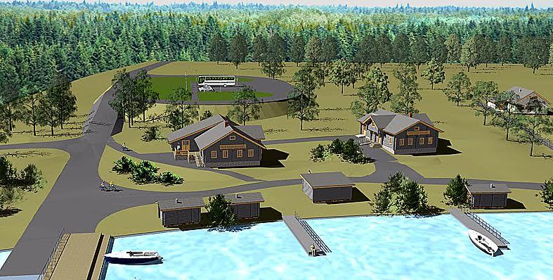 Деревня Оятевщина в будущем