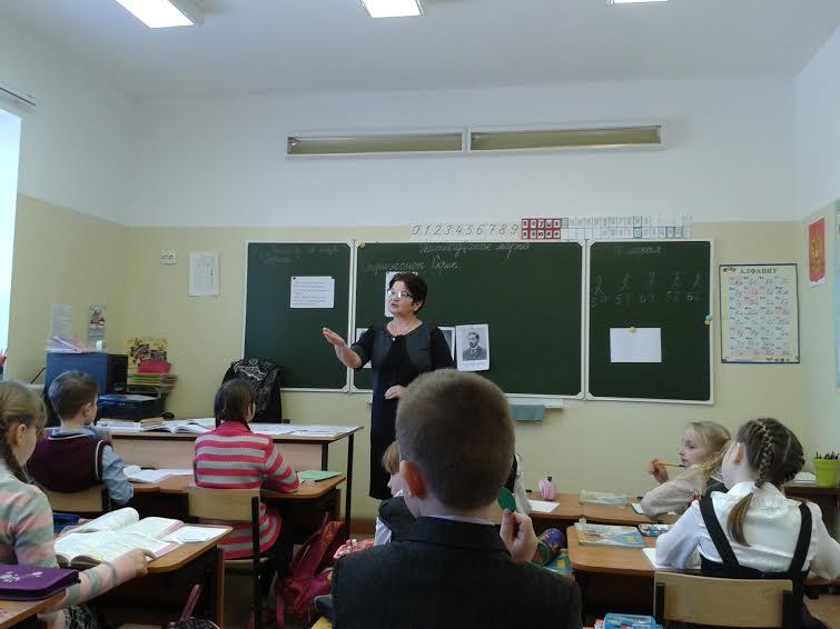 В Таунанской школе. Фото Зинаиды Ефловой