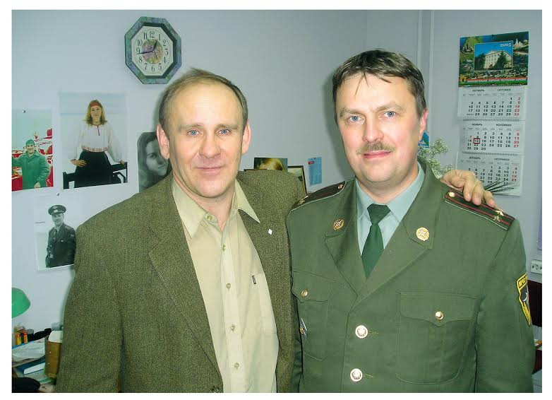 Николай Абрамов (слева) и автор публикации Олег Мошников