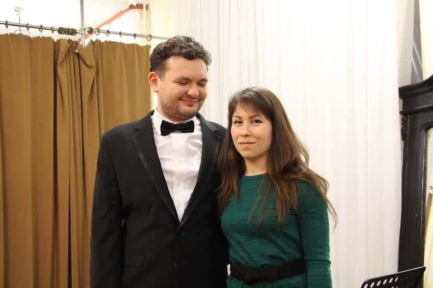 Юрий Фаворин с женой