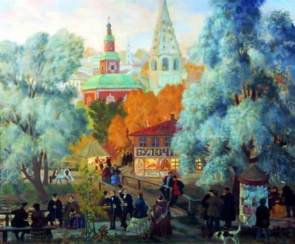Борис Кустодиев. Провинция