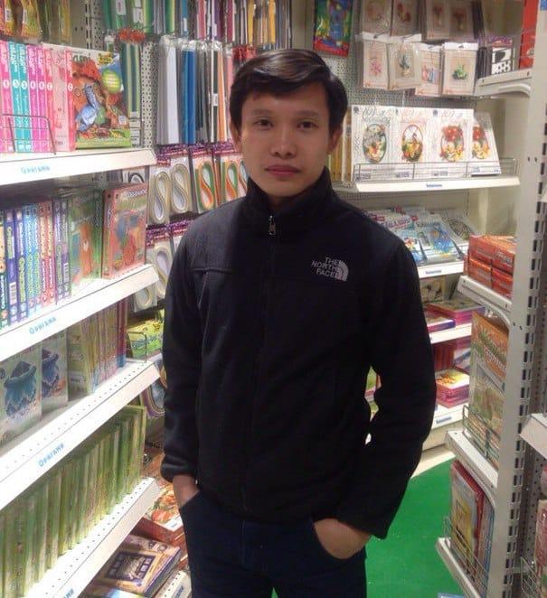 Студент ПетрГУ Су Сонг