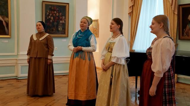 """Фольклорная группа музея """"Кижи"""" порадовала своим выступлением"""