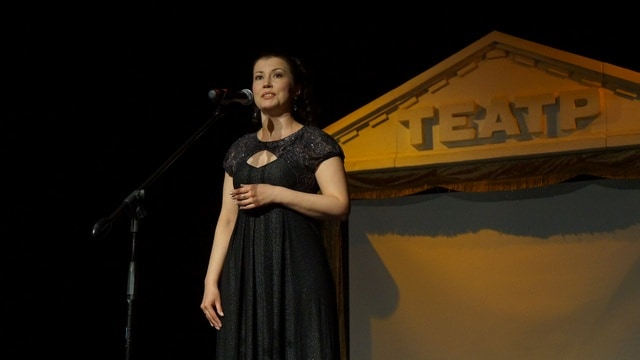 Солистка Музыкального театра Эльвина Муллина