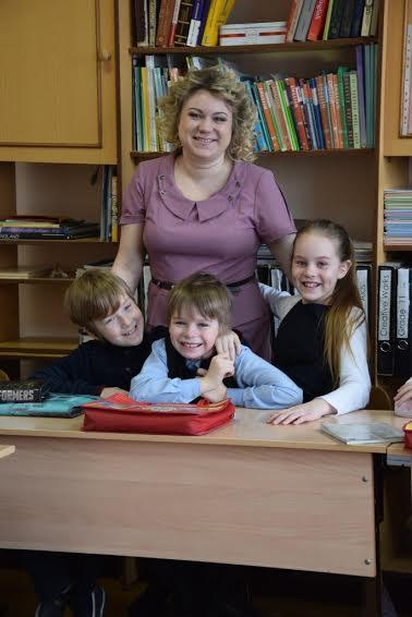 Финалист конкурса - Анна Кривобок, учитель английского языка гимназии №17