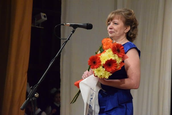 Победитель конкурса 2016 года - Елена Филимонова, учитель начальных классов школы №46