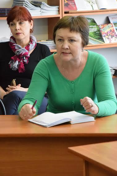Ирина Папушой, член Управляющего совета лицея №1, мама одиннадцатиклассницы