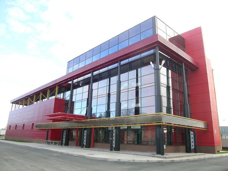 Административное здание дистанции электроснабжения Октябрьской железной дороги. 2006 г. Фото Е. Фролова