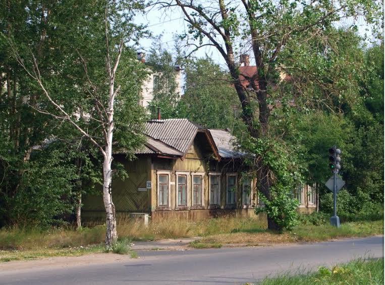 Жилой дом на станции Петрозаводск постройки 1915 г. Ул. Шотмана, 58