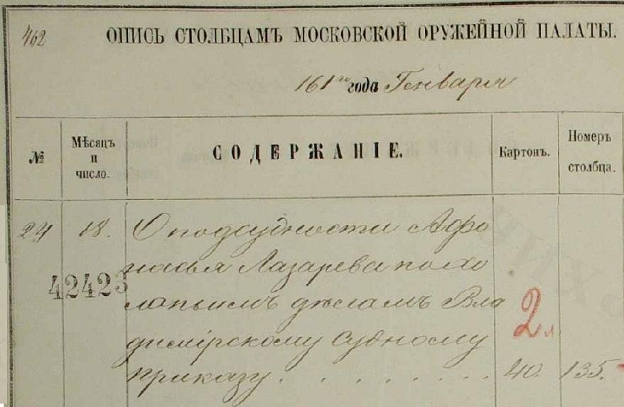 Пишут, что это дело писано моим дедом Иваном Поликарповичем, но мне его почерк пока увидеть не удалось.