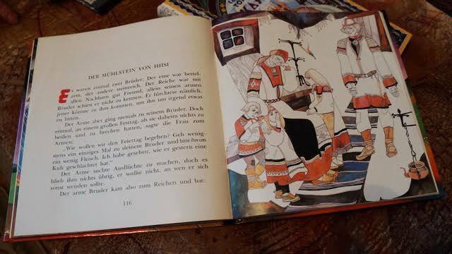 Сказка на немецком языке с иллюстрацией Тамары Юфа