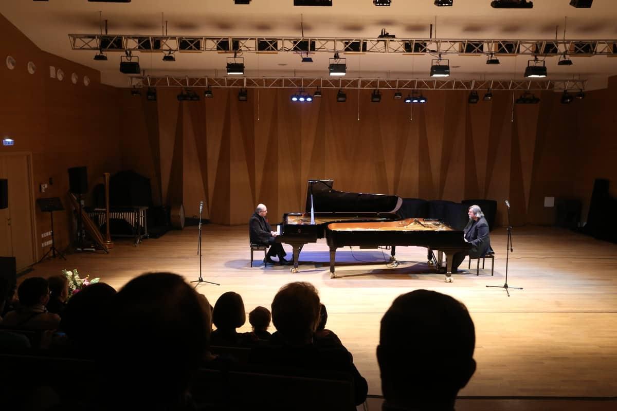 Валерий Гроховский и Игорь Бриль в Петрозаводске. Фото Владимира Ларионова