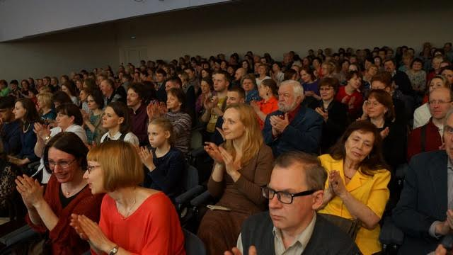 В Карельской филармонии. Фото Ирины Ларионовой