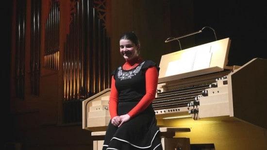 Мария Лебедева на концерте в Кондопоге