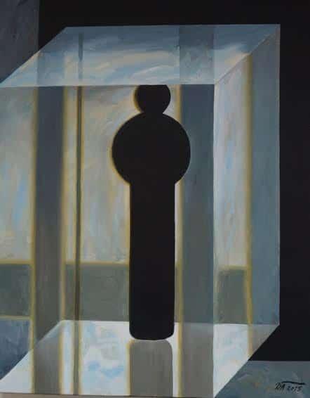 Давид Плаксин. В стекле