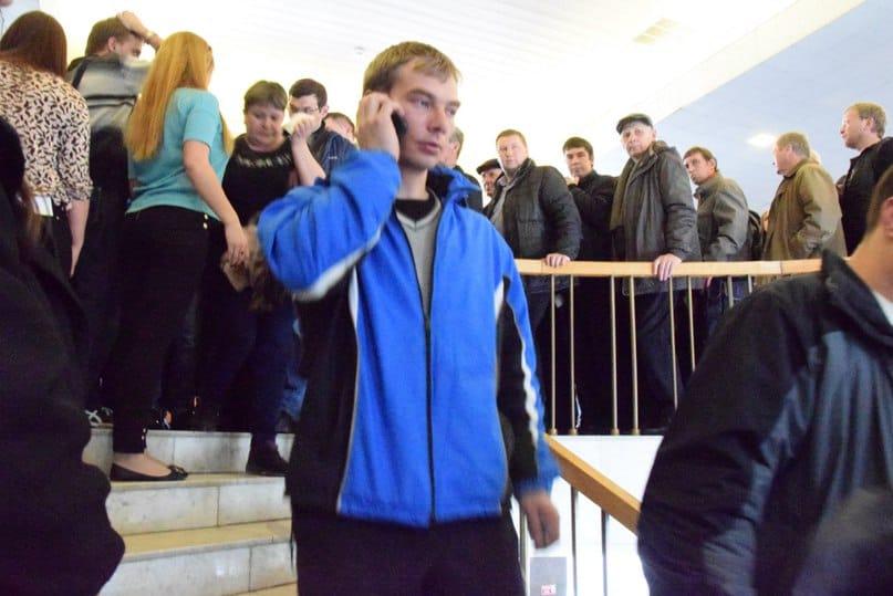 На общественных слушаниях по Левашовскому бульвару. Фото Марии Голубевой