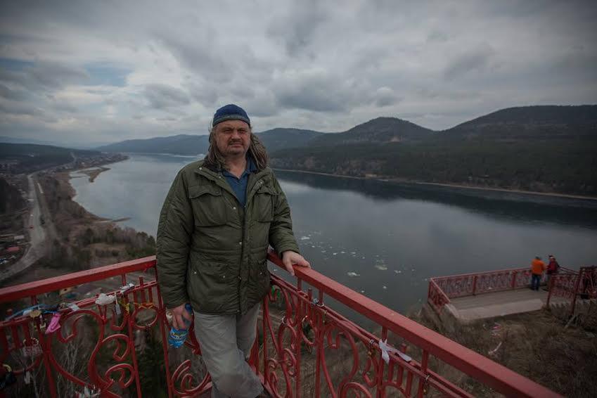 Владимир Софиенко на Енисее