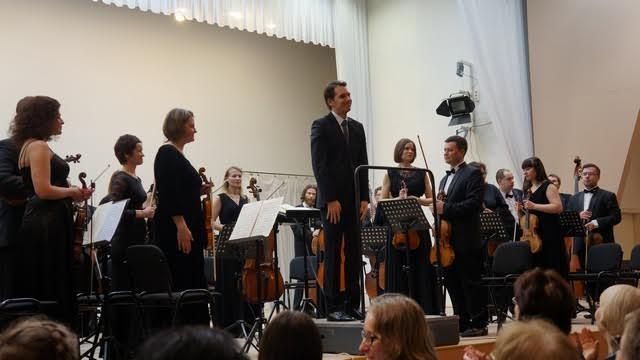 """Прозвучала симфония №41 """"Юпитер"""" Моцарта. Фото Ирины Ларионовой"""