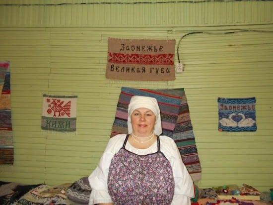 Валентина Сукотова провела чтения несмотря на все препятствия со стороны местной власти. Фото Галины Васильевой