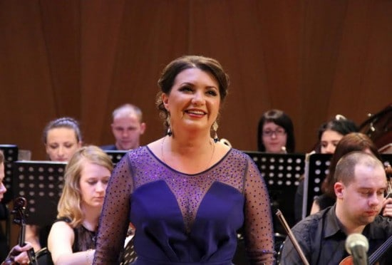 Юлия Маточкина в Большом зале Петрозаводской консерватории. 4 апреля 2016 года