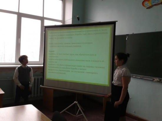 Никита Александров и Карина Архипова из школы №11 Петрозаводска