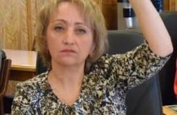 Анна Евтухович в парламенте Карелии