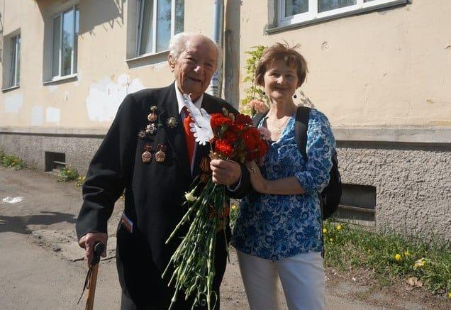 Николай Федорович Логинов и Ирина Ларионова