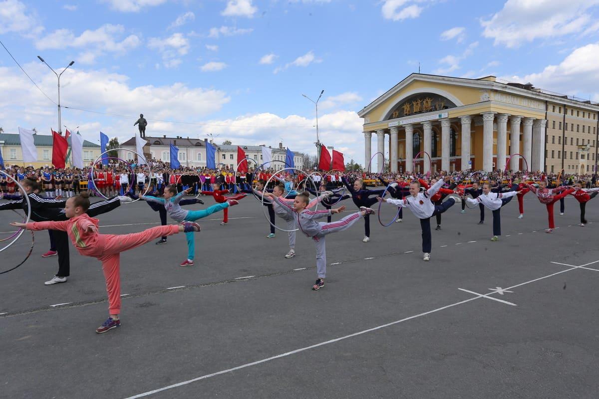 День Победы в Петрозаводске. Фото Владимира Ларионова