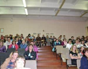 На общегородском родительском собрании в Пудоже